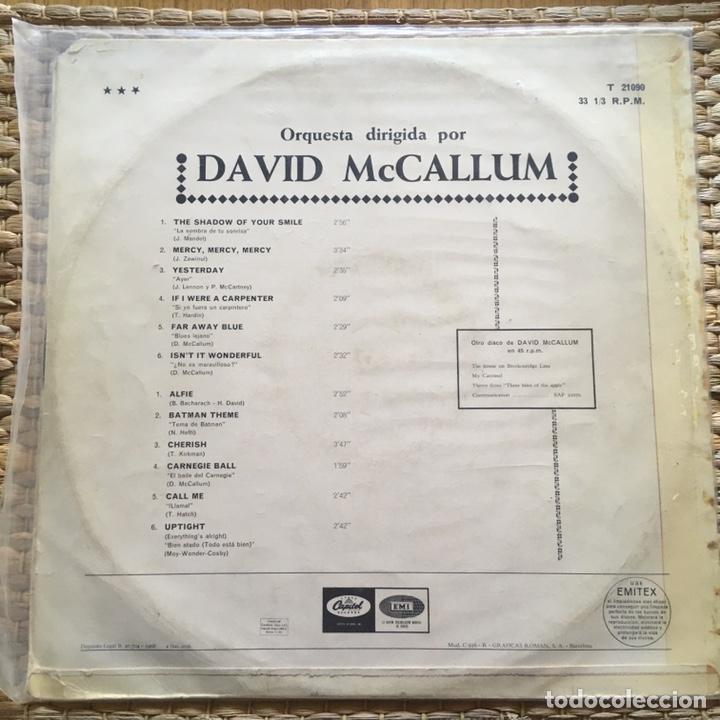 Discos de vinilo: DAVID MCCALLUM LP EDIC ESPAÑA AÑO 1968 - Foto 2 - 226977115