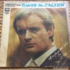 Discos de vinilo: DAVID MCCALLUM LP EDIC ESPAÑA AÑO 1968. Lote 226977115