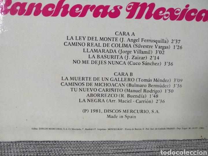 Discos de vinilo: Rancheras mexicanas - Foto 2 - 226980450