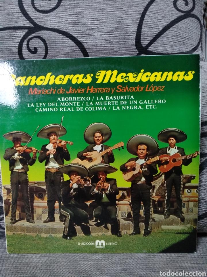 RANCHERAS MEXICANAS (Música - Discos de Vinilo - Maxi Singles - Étnicas y Músicas del Mundo)