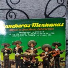 Discos de vinilo: RANCHERAS MEXICANAS. Lote 226980450