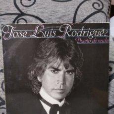 Discos de vinilo: JOSE LUIS RODRÍGUEZ - DUEÑO DE NADA. Lote 226981004