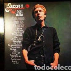 Discos de vinilo: SCOTT WALKER–SCOTT WALKER SINGS SONGS FROM HIS T.V. SERIES . LP VINILO EDICIÓN PRECINTADO. Lote 226992570