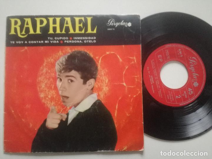 RAPHAEL - TU CUPIDO +3 -EP PERGOLA 1966 (Música - Discos de Vinilo - EPs - Solistas Españoles de los 50 y 60)