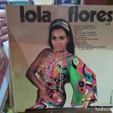 Discos de vinilo: LOLA FLORES, Nº 2 - TIENTOS DEL SOMBRERO, ÉHCALE GUINDAS AL PAVO, ... - LP. SELLO DISCOPHON 1971. Lote 227000300