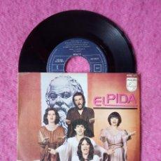 Discos de vinilo: SINGLE ELPIDA - SOCRATES - PHILIPS 6060 337 - PORTUGAL PRESS (EX/NM) EUROVISION 1979. Lote 227013250