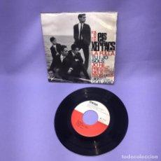 Discos de vinilo: SINGLE -- ELS XERRACS LA FULLA TU I JO SOLS -- BARCELONA -- VG. Lote 227020667