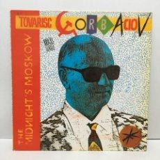 Discos de vinilo: THE MIDNIGHT'S MOSKOW* – TOVARISC GORBACIOV - 1987. Lote 227022440