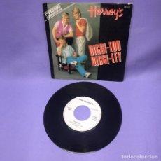 Discos de vinilo: SINGLE HERREY'S DIGGI - LOO DIGGI- LEY --1984 -- MADRID --VG+. Lote 227026115