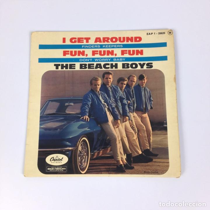 """EP 7"""" - THE BEACH BOYS - I GET AROUND (FRANCIA, 1964) (Música - Discos de Vinilo - EPs - Rock & Roll)"""