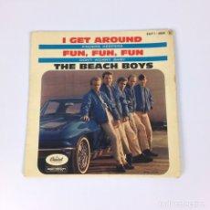 """Discos de vinilo: EP 7"""" - THE BEACH BOYS - I GET AROUND (FRANCIA, 1964). Lote 226621135"""