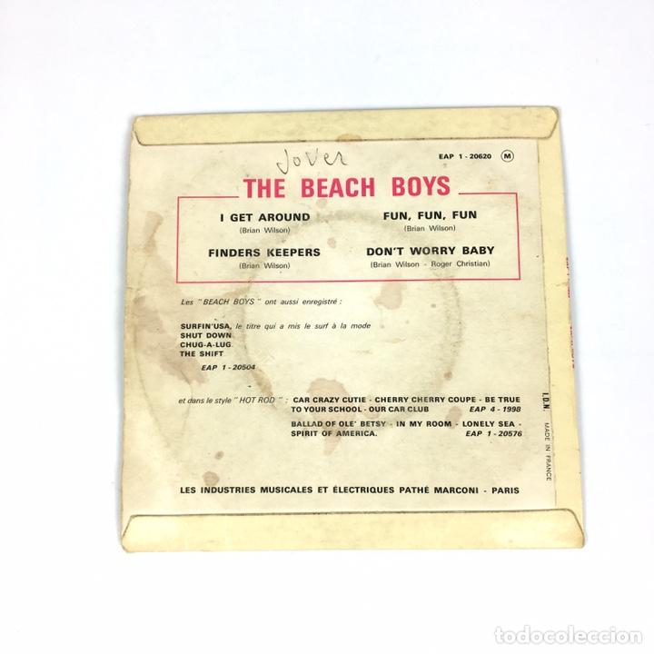 """Discos de vinilo: EP 7"""" - THE BEACH BOYS - I Get Around (Francia, 1964) - Foto 2 - 226621135"""
