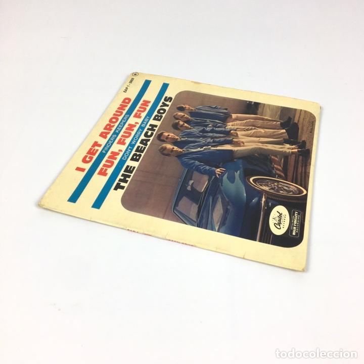 """Discos de vinilo: EP 7"""" - THE BEACH BOYS - I Get Around (Francia, 1964) - Foto 8 - 226621135"""