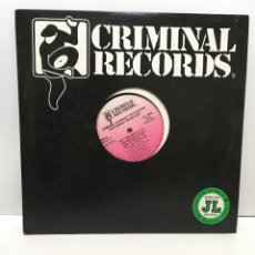 Discos de vinilo: CRIMINAL ELEMENT ORCHESTRA FEATURING TIM BRYANT ‎– PUT THE NEEDLE TO THE RECORD AGAIN - 1987. Lote 227031795