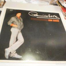 Discos de vinilo: LP CAMILO SESTO. CON GANAS. ARIOLA 1983 SPAIN (PROBADO Y BIEN, BUEN ESTADO). Lote 227038685