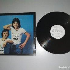 Discos de vinilo: 1120- LOS GOLFOS QUE PASA CONTIGO TIO ESPAÑA 1976 PROMO LP VIN POR VG DIS VG+. Lote 227050925