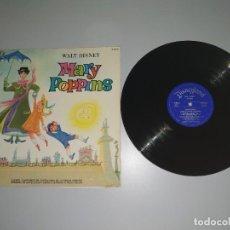 Discos de vinilo: 1120- MARY POPPINS WALT DISNEY ESPAÑA 1975 LP VIN POR VG DIS VG+. Lote 227051616