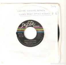 "Discos de vinilo: CROWN HEIGHTS AFFAIR 7"" USA IMPORTACION 45 EVERY BEAT OF MY HEART 1975 SINGLE VINILO FUNK SOUL DISCO. Lote 227051737"