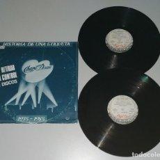 Discos de vinilo: 1120- Hª DE UNA ETIQUETA CHAPA/DISCOS 1975/1985 ESPAÑA PROMO VIN POR G DIS NM. Lote 227052280