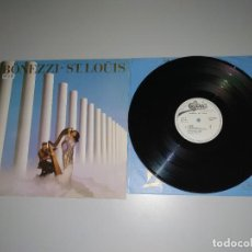 Dischi in vinile: 1120- BONEZZI-ST.LOUIS ESPAÑA 1984 LP PROMO VIN POR VG + DIS NM. Lote 227055686