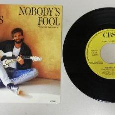 """Discos de vinilo: 1120-KENNY LOGGINS NOBODY´S FOOL - VIN 7"""" POR VG DIS G+ PROMO. Lote 227057450"""
