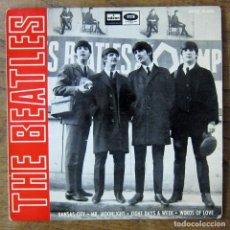 Discos de vinilo: THE BEATLES - KANSAS CITY - MR. MOONLIGHT / EIGHT DAYS A WEEK - WORDS OF LOVE - 1964 - DSOE 16.643. Lote 227067177