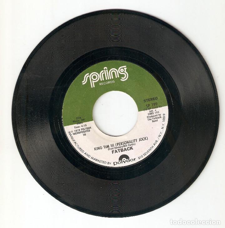 "Discos de vinilo: FATBACK 7"" USA IMPORTACION 45 YOU´RE MY CANDY SWEET 1979 SINGLE VINILO HIP HOP FUNK SOUL DISCO RARO! - Foto 3 - 227069171"