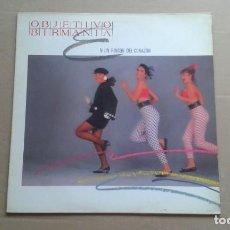 Discos de vinilo: OBJETIVO BIRMANIA - NI UN RINCON DEL CORAZON MAXI SINGLE 1985. Lote 227079017