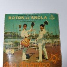 Discos de vinilo: DÚO DINÁMICO - QUINCE AÑOS TIENE MI AMOR/GUARDIAMARINA SOY/AHÍ EN EL CIELO/OH OH BLANCAFLOR, ROJO. Lote 227085760