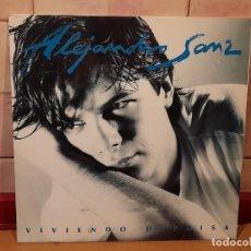 Dischi in vinile: ALEJANDRO SANZ, LP 1991. Lote 227087460