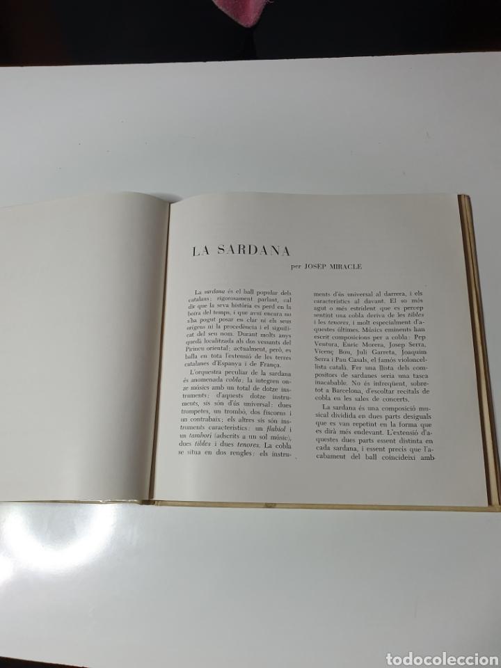Discos de vinilo: Sardanes, Cobla Barcelona - Honorança / La Pageseta De Berga, Con Libro, Belter 17.014. 33 1/3 RPM. - Foto 3 - 227087610