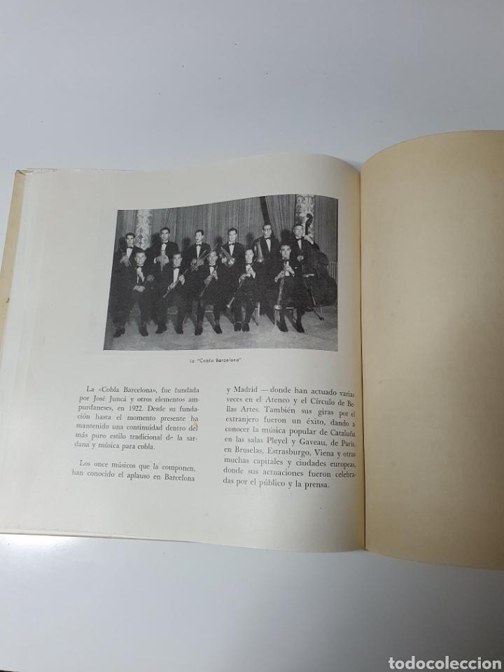 Discos de vinilo: Sardanes, Cobla Barcelona - Honorança / La Pageseta De Berga, Con Libro, Belter 17.014. 33 1/3 RPM. - Foto 5 - 227087610