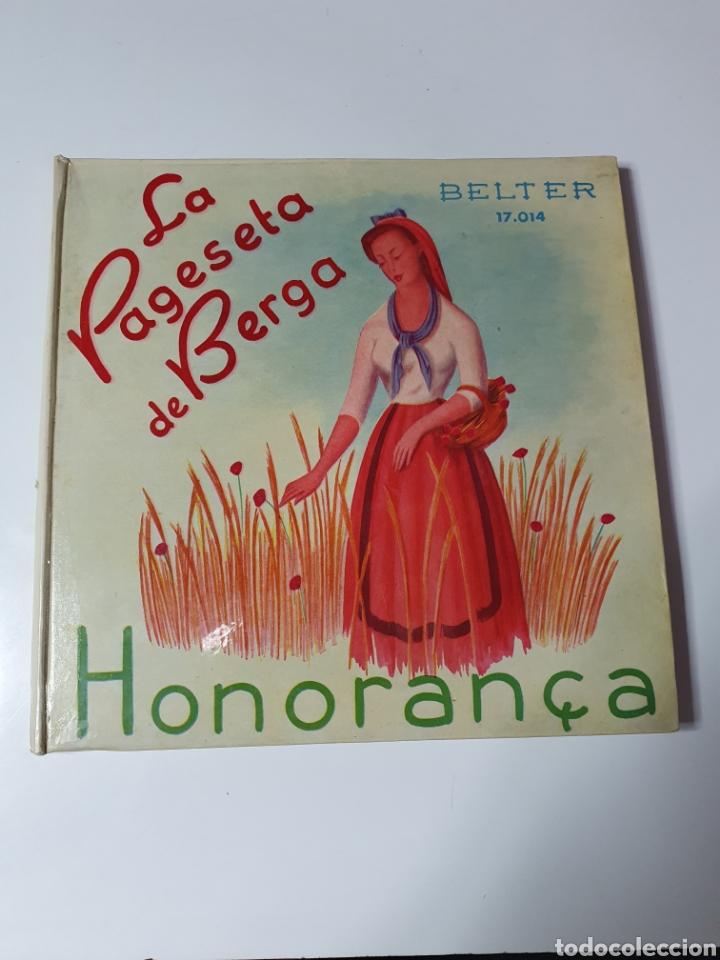 SARDANES, COBLA BARCELONA - HONORANÇA / LA PAGESETA DE BERGA, CON LIBRO, BELTER 17.014. 33 1/3 RPM. (Música - Discos de Vinilo - Maxi Singles - Otros estilos)