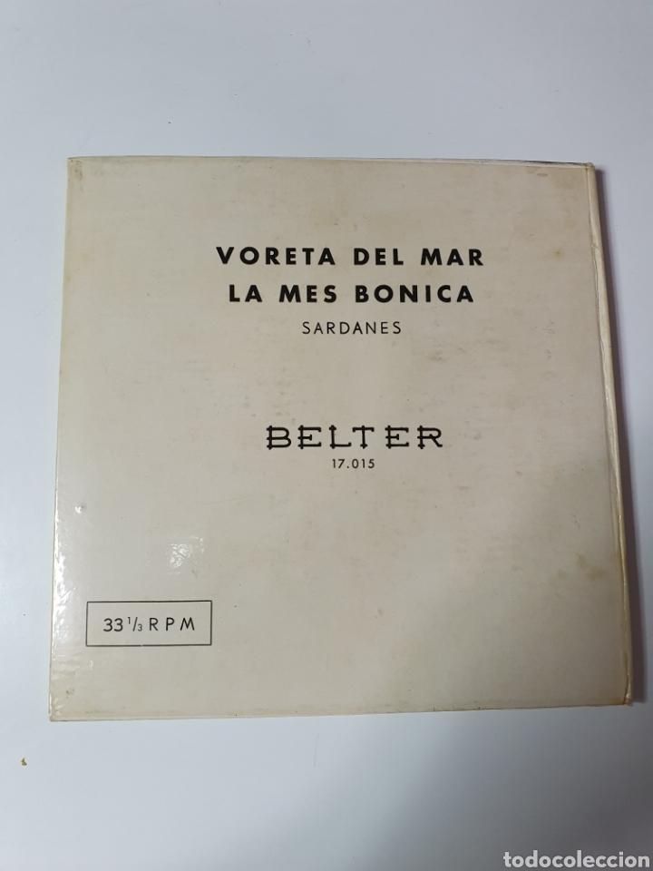 Discos de vinilo: Sardanes - Varela Del Mar / La Mes Bonica, Libro Belter, 17.015, 33 1/3 RPM. - Foto 2 - 227088410