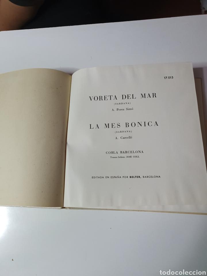 Discos de vinilo: Sardanes - Varela Del Mar / La Mes Bonica, Libro Belter, 17.015, 33 1/3 RPM. - Foto 3 - 227088410