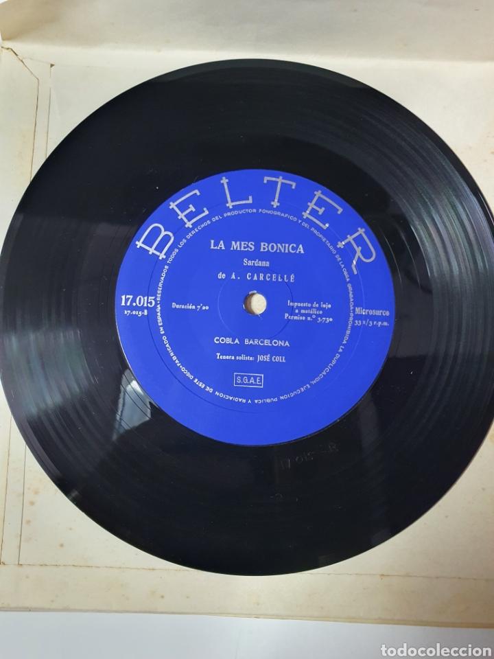 Discos de vinilo: Sardanes - Varela Del Mar / La Mes Bonica, Libro Belter, 17.015, 33 1/3 RPM. - Foto 7 - 227088410