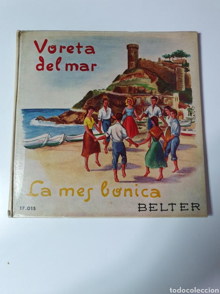 SARDANES - VARELA DEL MAR / LA MES BONICA, LIBRO BELTER, 17.015, 33 1/3 RPM. (Música - Discos de Vinilo - Maxi Singles - Otros estilos)