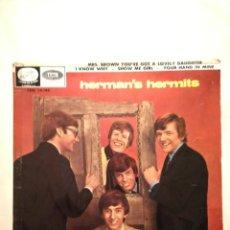 Discos de vinilo: HERMAN'S HERMITS EP. Lote 227104715