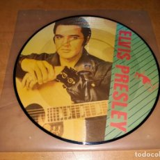 Discos de vinilo: ELVIS PRESLEY SINGLE VINYL PICTURE DISC ,1987 LTD. EDITION 1000 COPIES RARE *MUY RARO*. Lote 227105305