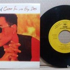 Discos de vinilo: GEORGE LAMOND / COMO TU NO HAY DOS / SINGLE 7 INCH. Lote 227118570
