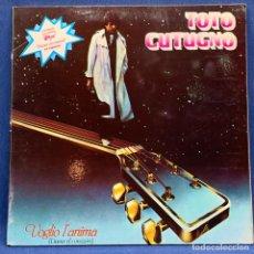 Discos de vinilo: LP - VINILO TOTO CUTUGNO - VOGLIO L'ANIMA DOBLE PORTADA + ENCARTE - ESPAÑA - AÑO 1979. Lote 227123509