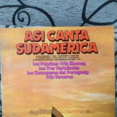 Discos de vinilo: ASÍ CANTA SUDAMÉRICA VOL 3. Lote 227127605