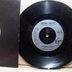 Discos de vinilo: ASPHALT BALLET / TUESDAY'S RAIN / SINGLE 7 INCH. Lote 227127920