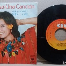 Discos de vinilo: ELSA BAEZA / UNA CANCION / SINGLE 7 INCH. Lote 227131170