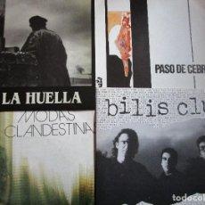 Discos de vinilo: 4 DISCOS DE GRUPOS DE ASTURIAS - BILIS CLUB EP - PASO DE CEBRA - MODAS CLANDESTINAS - LA HUELLA -. Lote 227131410