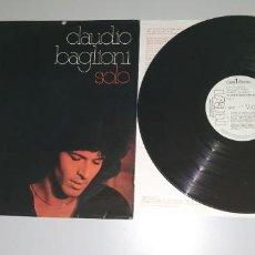 Discos de vinilo: 1120- CLAUDIO BAGLIONI SOLO EN ESPAÑOL LP ESPAÑA 1977 PROMO VIN POR VG DIS VG. Lote 227131560