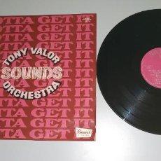 Discos de vinilo: 1120- TONY VALOR SOUNDS ORCHESTRA ESPAÑA 1977 LP PROMO VIN POR VG DIS VG+. Lote 227131950