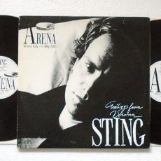 Discos de vinilo: DOBLE LP . STING . GREETINGS FROM VERONA 1988 . MADE IN BELGIUM. Lote 227134325