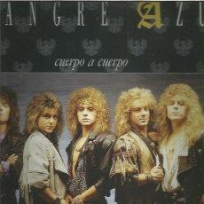 Discos de vinilo: SANGRE AZUL CUERPO A CUERPO. Lote 227135990