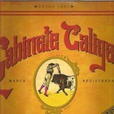 Discos de vinilo: GABINETE CALIGARI GRANDES EXITOS. Lote 227137720